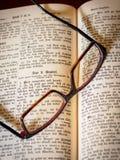 Stara święta biblia, antyk, religia zdjęcie stock