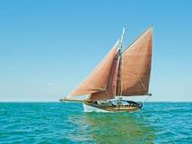 Stara żeglowanie łódź Obrazy Royalty Free
