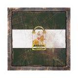 Stara Andalusia flaga Fotografia Stock