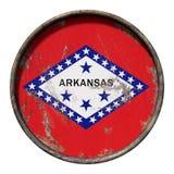 Stara Arkansas flaga royalty ilustracja