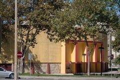 Stara bój arena, Praca De Touros w Północnym Portugalia/, Povoa De Varzim obraz royalty free
