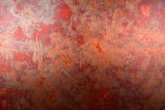 Stara będąca ubranym metal powierzchnia z farbą metal zardzewiała konsystencja Metal sh Fotografia Royalty Free
