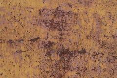 Stara będąca ubranym metal powierzchnia z farbą metal zardzewiała konsystencja Tło Metal wallah Zdjęcie Royalty Free