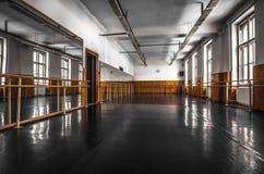 Stara baletnicza sala Zdjęcia Stock