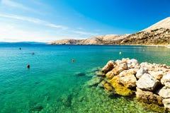Stara Bask zatoka w krk Obraz Royalty Free