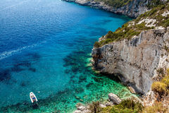 Stara Baska beach, Croatia Royalty Free Stock Images