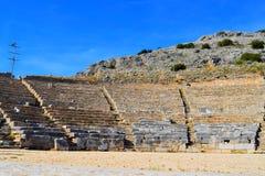 Stara Batalistyczna arena zdjęcia stock