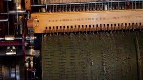 Stara bawić się maszyna Machinalny lufowy organ zbiory wideo