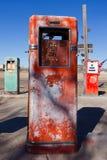 Stara Benzynowa stacja Zdjęcie Royalty Free
