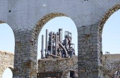 Stara Betlejem stalowa fabryka w Pennsylwania Obraz Royalty Free