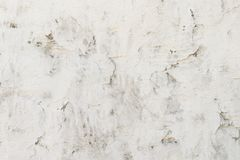 Stara betonowa ściana maluje z białą farbą, tło zdjęcia stock