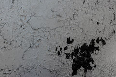 Stara betonowa ściana z plamami i brudem, tekstury tło Fotografia Royalty Free