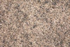 Stara betonowa tekstura z żwirem Obraz Stock