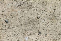 Stara betonowej ściany tekstura, pęka narysy szczerbiących się obraz stock