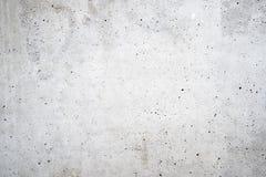 Stara biała betonowa ściana Zdjęcia Royalty Free