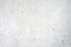 Stara biała betonowa ściana Obraz Stock