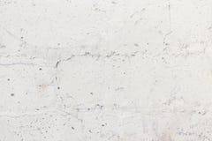 Stara biała krakingowa betonowa ściana Zdjęcie Royalty Free