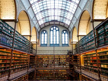 Stara biblioteka Rijksmuseum, Amsterdam Zdjęcie Stock