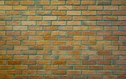Stara Blada pomarańcze zieleni ściana z cegieł tekstura ornamentu geometryczne tła księgi stary rocznik Zdjęcie Royalty Free