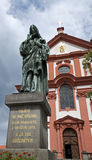 Stara Boleslav - Church Stock Image