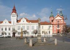 Stara Boleslav, République Tchèque Photo stock