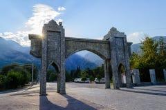 stara brama Beldibi, Turcja Zdjęcie Royalty Free