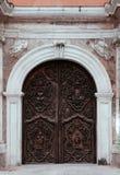 Stara brama San Agustin kościół, Manila, Filipiny Obraz Stock