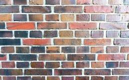 Stara brickwork ściana - krajobrazowy tryb Obraz Stock