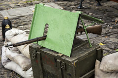Stara broń wojna Zdjęcia Stock