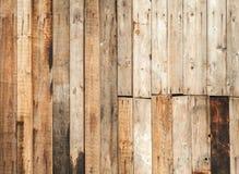 Stara brown drewniana płotowa tło tekstura Obraz Royalty Free