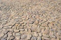 Stara brukowiec ulica Obrazy Stock