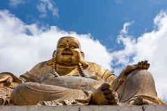 Stara Buddha statua zdjęcia royalty free