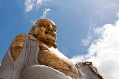 Stara Buddha statua obraz stock