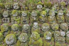 Stara Buddha statua w arashiyama, Kyoto, Japonia fotografia royalty free