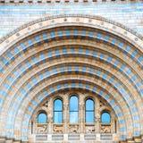 stara budowa w London Europe englan okno i ściana z cegieł Zdjęcia Stock