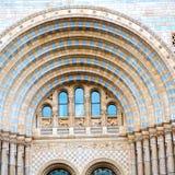 stara budowa w London Europe englan okno i ściana z cegieł Zdjęcie Stock