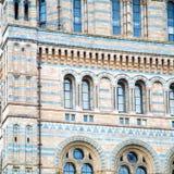 stara budowa w London Europe englan okno i ściana z cegieł Obrazy Stock