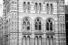 stara budowa w London Europe englan okno i ściana z cegieł Fotografia Stock