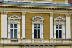 Stara budynek fasada przy zjednoczenie kwadratem Zdjęcie Royalty Free