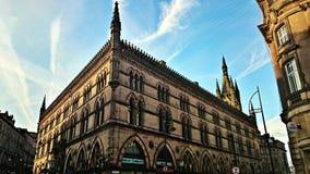 Stara budynek wełny wymiana Zdjęcia Stock