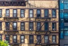 Stara Buiding fasada w Manhattan Obraz Royalty Free