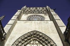 Stara Burgos katedra Obrazy Stock