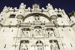 Stara Burgos katedra Obrazy Royalty Free