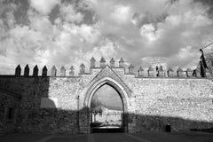 Stara Burgos katedra Zdjęcia Royalty Free