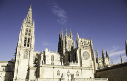 Stara Burgos katedra Zdjęcia Stock