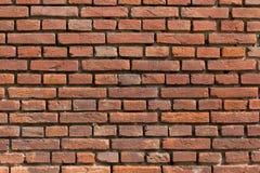 Stara cegła Podpalająca ściana Obraz Stock