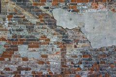 stara ceglana ściana Tło Zdjęcie Stock