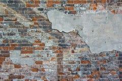 stara ceglana ściana Tło Fotografia Stock