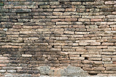 stara ceglana ściana Zdjęcie Royalty Free