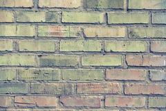 stara ceglana ściana zdjęcia royalty free